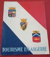 Revue Tourisme En Algérie Alger, Tlemcen, Le Mzab, Constantine, Laghouat, Kabylie,Biskra, Touggourt... - Tourisme