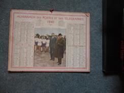( Pétain Vichy) Almanach Des Postes Et Des Telegraphes 1941 - Big : 1941-60
