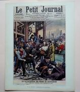 GRAVURE PEDAGOGIQUE OCTOBRE 1956 -  27 X 21 - LE PROGRES DES TECHNIQUES - Le Charbon - CATASTROPHE DE COURRIERES - Sciences