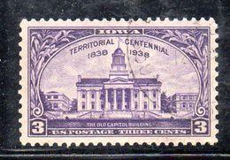 STATI UNITI 1938 , Yvert N.  403 (Un. 639)  Usato . - Used Stamps
