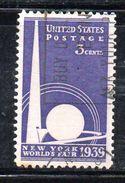 STATI UNITI 1939 , Yvert N.  405 (Un. 641)  Usato . - Used Stamps