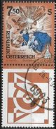 1994 Austria Österreich  Mi. 2124 SF Used  Die Apokalypse (Detail); Kuppelfresko Von Paul Troger (1698-1772) Im Stift Al - 1945-.... 2ème République