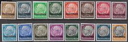 Luxembourg  1940  Sc#N1-16 Set  MH*  2016 Scott Value $11.40 - 1940-1944 Occupation Allemande