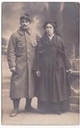 Ancienne Carte Photo Couple Ile De Sein à Identifier - Personnes Anonymes