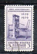 STATI UNITI 1939 , Yvert N.  409 (Un. 645)  Usato. - Usados