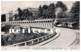 22  Saint Brieuc  Boulevard Sévigné Et Le Palais De Justice - Saint-Brieuc