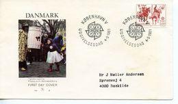 DENMARK  -    1981 EUROPA Stamps - Folk Tales   FDC2479 - FDC