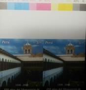 O) 2008 PERU, IMPERFORATE PROOF , NEOCOLONIAL ARCHITECTURE OF 1604,  SANTA CLARA MONASTERY- CUSCO  - LIMA ANNIVERSARY, M - Peru