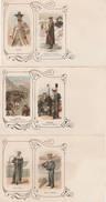 3 CPA:ILLUSTRANT MARIN RUSSE JAPONAIS,CORÉEN RUSSIE TRAIN,JAPON TROUPES EN MARCHE RUSSIE CANON À TIR RAPIDE - Cartes Postales