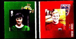 GREAT BRITAIN - 2013  FOOTBALL HEROES  S/A  SET  EX BOOKLET  MINT NH - 1952-.... (Elisabetta II)