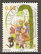 LUXEMBOURG      -    2012 .  Enfants  /  Eau .  Oblitéré. - Luxembourg