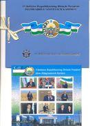 2017. Uzbekistan, I. Karimov, First President Of Uzbekistan, Sheetlet In Booklet,  Mint/** - Uzbekistan