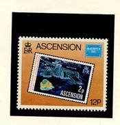 ESPACE - Comète De Halley - Ascension 1986 Y&T N°399 *** - Space