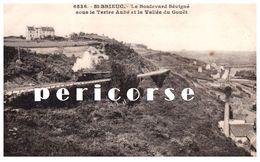 22  Saint Brieuc  Le Boilevard Sévigné Sous Le Tertre Aubé - Saint-Brieuc