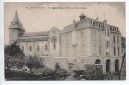 EGLETONS (19) - LA CORREZE ILLUSTREE - HOTEL DE VILLE ET EGLISE - Egletons