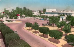 B37295 Meknès, Place Et Lycée - Maroc