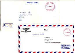 Port Payé_Postage Paid_ Port Vila_Service Des Postes - Nouvelles-Hébrides