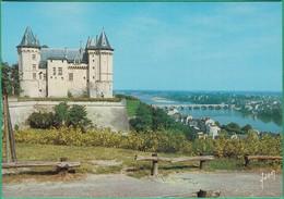 49 - Saumur - Le Château Et La Loire - Editeur: Yvon N°10490050 - Saumur