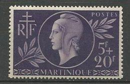 MARTINIQUE N° 198 NEUF* TRACE DE CHARNIERE TB  / MH - Martinique (1886-1947)