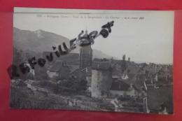 Cp Poligny Tour De La Sergenterie Le Clocher N 1263 - Poligny