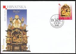 Croatia Zagreb 2001 / Christmas / FDC - Croatie