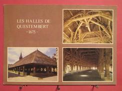 56 - Questembert - Les Halles - Scans Recto-verso - Questembert