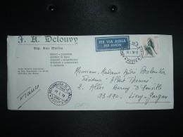 LETTRE Par Avion Pour La FRANCE TP SPERANZA 170 OBL.19 1 78 POSTA AEREA REPUBLICA DI S. MARINO POSTE + DELOUVY - Lettres & Documents