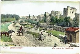 Constantinople. Murs De Jédikoulé. - Turkey