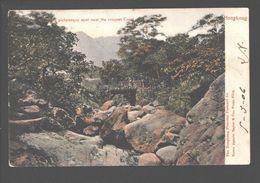 Hongkong / Hong Kong - A Picturesque Spot Near The Racquet Court - 1906 - Single Back - Chine (Hong Kong)