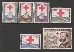 Belgique N° 1096 à 1101 **  Impeccables  (1) - Ongebruikt