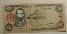 1993 - Jamaique - Jamaica - TWO DOLLARS - 1.2.93 - HX351877 - Jamaique