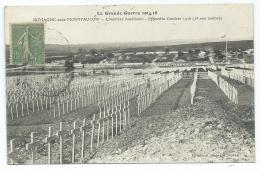 CPA ROMAGNE SOUS MONTFAUCON, RARE CLICHE, CIMETIERE AMERICAIN, OFFENSIVE OCTOBRE 1918, MEUSE 55 - France