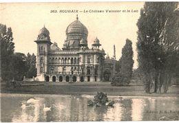 CPA N°16497 - LOT DE 2 CARTES DE ROUBAIX TOURCOING - LE CHATEAU VAISSIER ET LE LAC - Roubaix