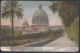 ITALIA - Roma - Giardino Vaticano - Cachets Roma Ferrovia 1-09-1923 - B/TB - - Parks & Gardens