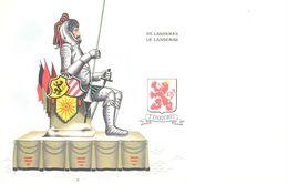 Belgique - La Belgique Folklorique - Limburg - De Langeman - Personnages