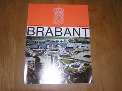 BRABANT Revue N° 4 1979 Régionalisme Brabant Wallon Bruxelles Boulevard Du Centre Mérode Westerloo Presbytères - Belgique