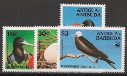Antigua - 1994 - N°Yv. 1809 à 1812 - Frégate / WWF - Neuf Luxe ** / MNH / Postfrisch - Other