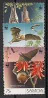 Samoa - 1993 - N°Yv. 763 à 766 - Chauve-souris / WWF - Neuf Luxe ** / MNH / Postfrisch - Other