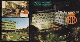 HOTEL NOGARO. SAN JUAN. -ARGENTINE-BLEUP - Hotel's & Restaurants