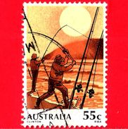 AUSTRALIA  - Usato - 1979 - Pesca - Sport Fishing - 55 C - 1966-79 Elizabeth II