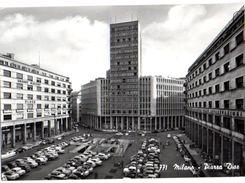 MILANO - PIAZZA DIAZ - AUTO CARS - BROMOFOTO VERA FOTO - VG 1959 FG - C357 - Milano