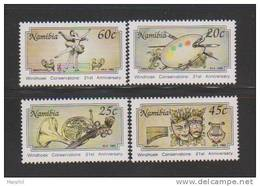 Namibia  **  1992  Michel  #  715  4v - Namibia (1990- ...)
