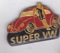 Pin's PIN UP SUPER VW - Pin-ups