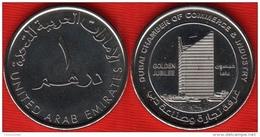 """United Arab Emirates 1 Dirham 2015 """"Dubai Chamber"""" UNC - Emirats Arabes Unis"""