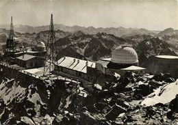 France, BIGORRE, Pyrenees, Observatoire De Physique Du Globe, Observatory (1960s) Postcard - Astronomy
