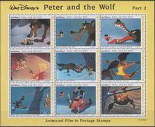 Maldives - Pierre Et Le Loup De Disney - 9 Val Neufs // Mnh - Disney