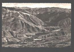 Urcos - La Poblacion Con La Laguna - Photo Card - Pérou