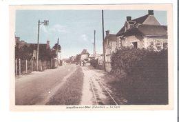 CP  D 14   ASNELLES Sur MER    La Gare - Autres Communes