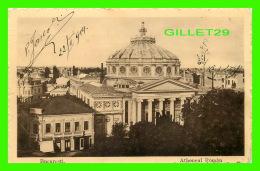 BUCARESTI, ROUMANIE - ATHENEUL ROMAN -  TRAVEL IN 1914 - - Roumanie
