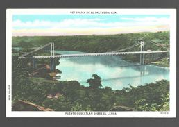 San Vicente - El Salvador - Puente Cuscatlan Sobre El Lempa - Linen - El Salvador